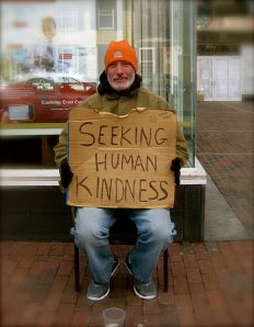 Seeking_human_kindness, by Enver Rahmanov